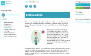 eHeath-omgaan met coronastress