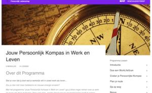 Screenshot Programma Jouw Persoonlijk Kompas